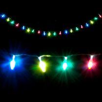 LED verlichting in dennenappel vorm