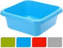 Afwasbak vierkant 32x32cm in blauw