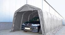 Carport PVC 3,3 x 9,6 x 2,6 meter in Grijs