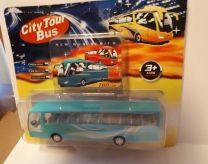 City Tour Bus in blauw