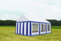 Classic Plus Partytent PVC 4x6x2 mtr in Wit-Blauw