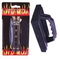 Barbecue / Grillreiniger spons met handvat 15,5x9x2cm