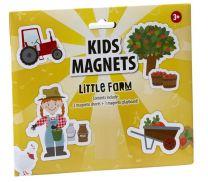 Magneetset dierfiguren - set van 2 vellen + 1 boerderij-bord