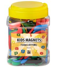 Magneet letters - set van 100 stuks