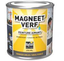 Magneetverf donkergrijs 250 mL