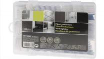 Floor protectors , vloerbeschermers , 122 delig in stevige box