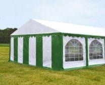 Premium Partytent PVC 3x4x2 mtr in Wit-Groen