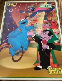 Sesamstraat puzzels set van 2 stuks, 2 x 36 stuks