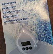 Showercoach Wit - Waterbesparend - Tijdbesparend - Douchetimer - Douche wekker