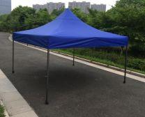 Partytent Easy Up 2,5 x 2,5 meter ALU frame zonder zijwanden in Blauw