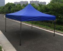 Partytent Easy Up Aluminium 3 x 3 meter met zijwanden in Blauw