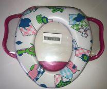 Toiletbril verkleiner Voor Kinderen - roze - dieren