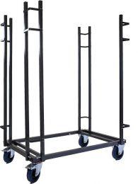 Trolley voor transport rechthoekige klaptafels
