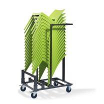 Trolley Klein voor transport Stapelstoelen