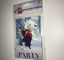 5 Disney Frozen uitnodigingskaarten
