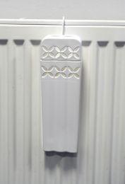Verdampingsbakje kunststof inclusief haakje kleur wit